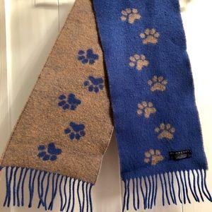 Kids Burberry wool scarf